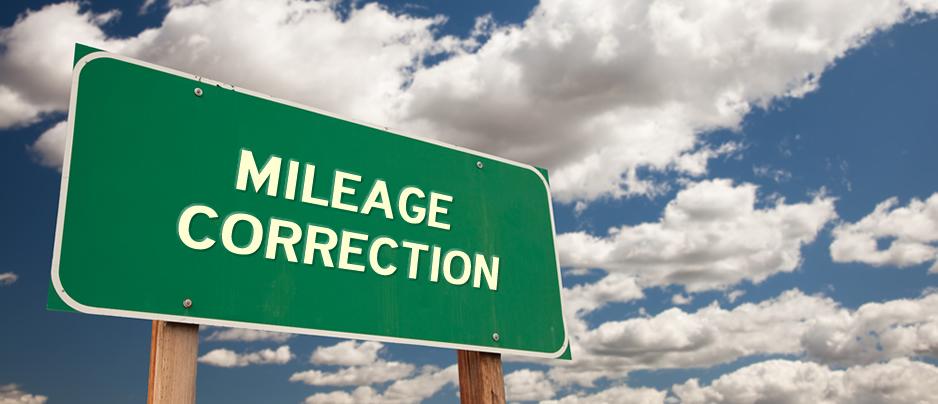 Mileage Correction